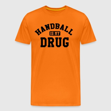 Handball is my drug - Premium-T-shirt herr