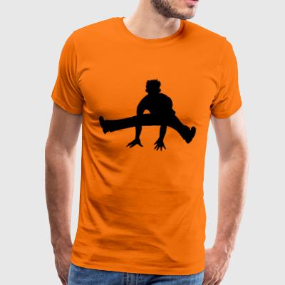Hiphop dancer - Men's Premium T-Shirt