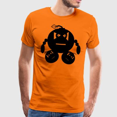 Man of explotions - Männer Premium T-Shirt