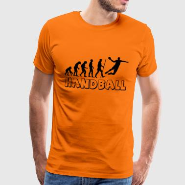Handball Evolution - Männer Premium T-Shirt