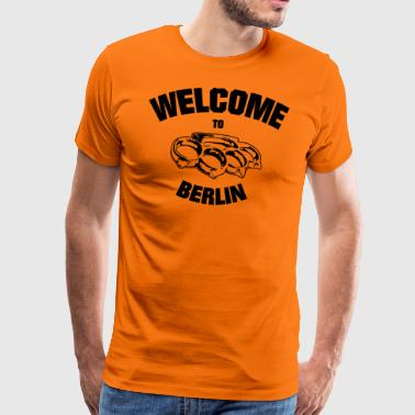 Welcome to Berlin Schlagring - Men's Premium T-Shirt