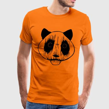 Black Metal Panda - Men's Premium T-Shirt