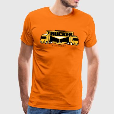 Trucker community - Men's Premium T-Shirt