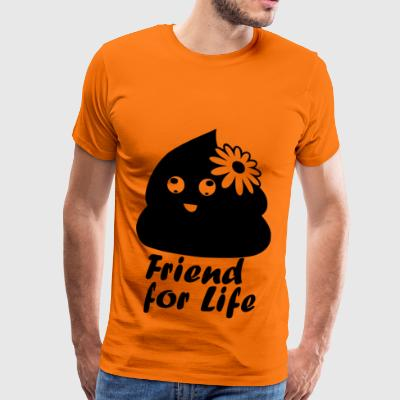 friendforlife Blak - Premium T-skjorte for menn