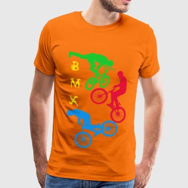 BMX, BMX, cycling, bike, bike, bike stunt - Men's Premium T-Shirt