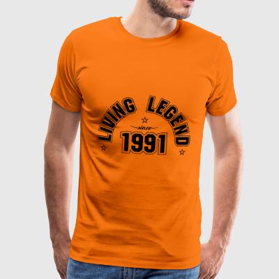 Living Legend 1991 - Men's Premium T-Shirt