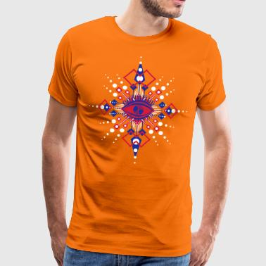 All seeing eye - Männer Premium T-Shirt