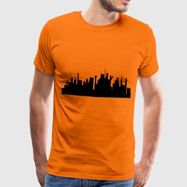 City future gift idea building - Men's Premium T-Shirt