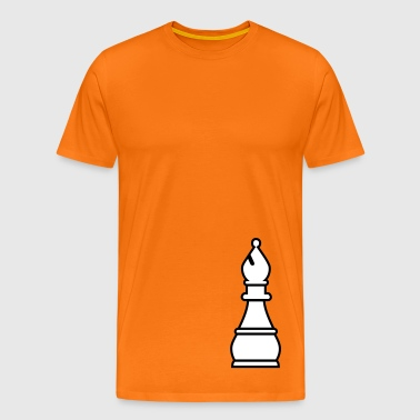 chess bishop - Men's Premium T-Shirt