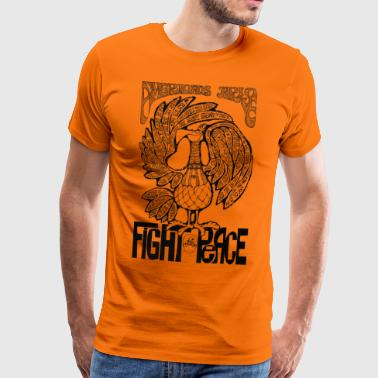 Vintage Grafik Americans Arise Fight for Peace - Männer Premium T-Shirt