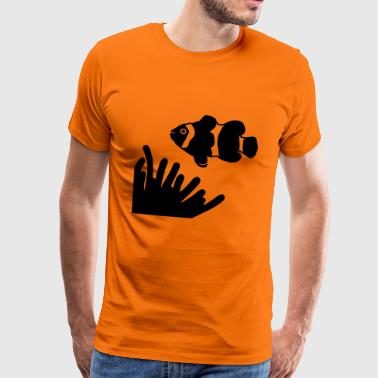 clown fish - Men's Premium T-Shirt