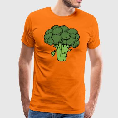 broccoli - Herre premium T-shirt