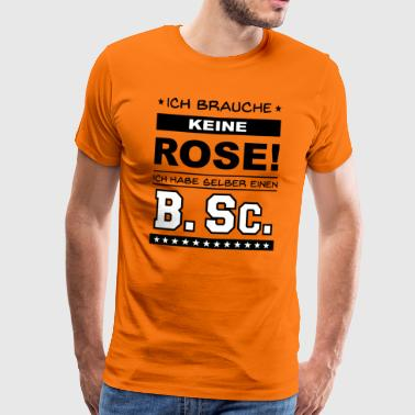 Bachelor of Science - Männer Premium T-Shirt