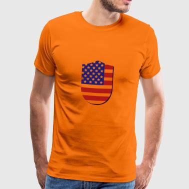 flag of the united states - Men's Premium T-Shirt