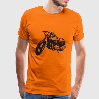 Motorcycle cafe racer - Men's Premium T-Shirt