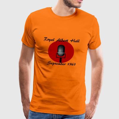 1963 Royal Albert Hall - Männer Premium T-Shirt
