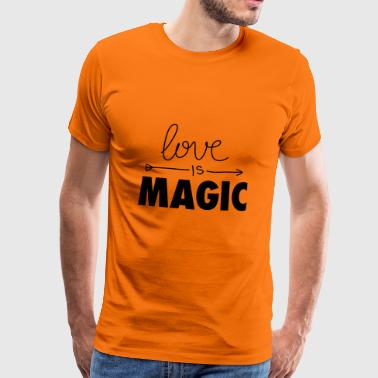 Love is magical - Men's Premium T-Shirt