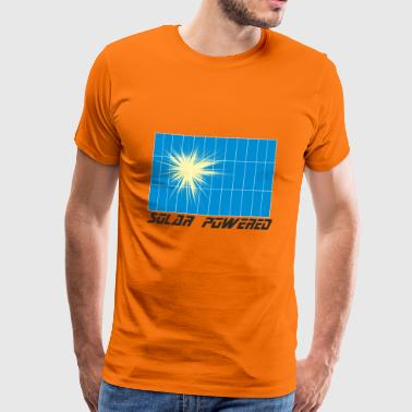 Everything solar powered & clean energy design - Men's Premium T-Shirt