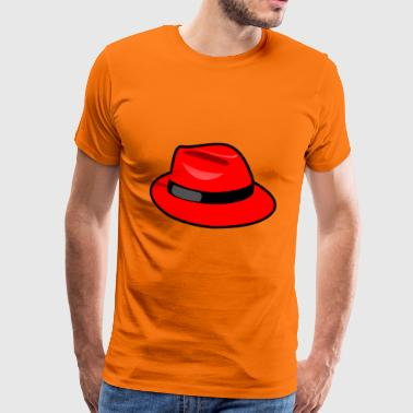 The red hat - Men's Premium T-Shirt