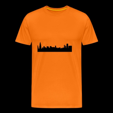 Chicago - Premium T-skjorte for menn