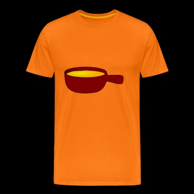soup stew soup bowl noodle cooking food9 - Men's Premium T-Shirt