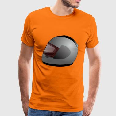 motorcycle helmet - Men's Premium T-Shirt