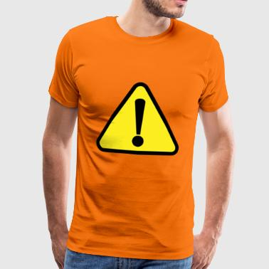 Attention! Attention! - T-shirt Premium Homme