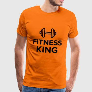fitness king - Men's Premium T-Shirt