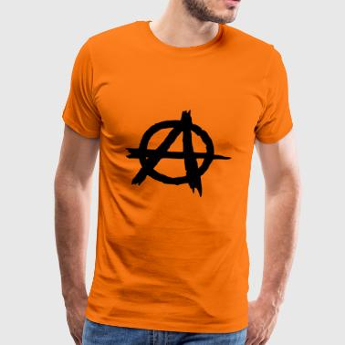 Anarchie punk anarchiste - T-shirt Premium Homme