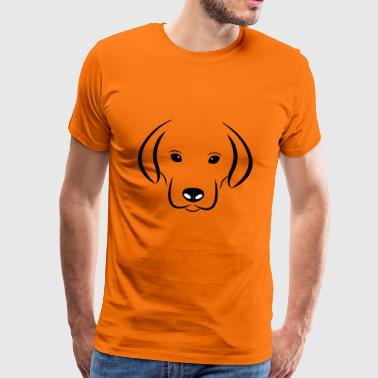 Dak the sweet dog - Men's Premium T-Shirt