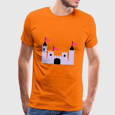 2541614 11414002 knight castle - Men's Premium T-Shirt