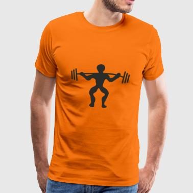Health Gym Gym Pumping Iron Sport Shirt - Men's Premium T-Shirt