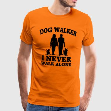Dog Walker - Männer Premium T-Shirt