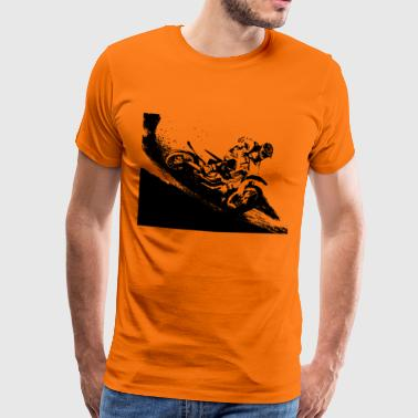 Motocross dirt bike - T-shirt Premium Homme