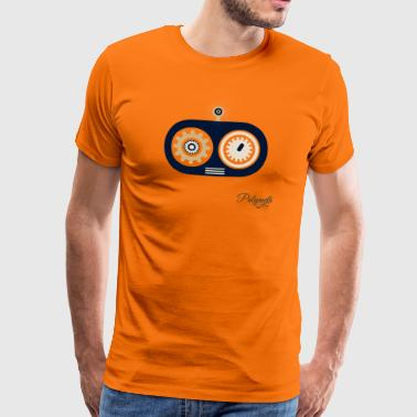 Robot Eyes - Men's Premium T-Shirt