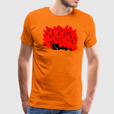 SAD Graffiti - Männer Premium T-Shirt