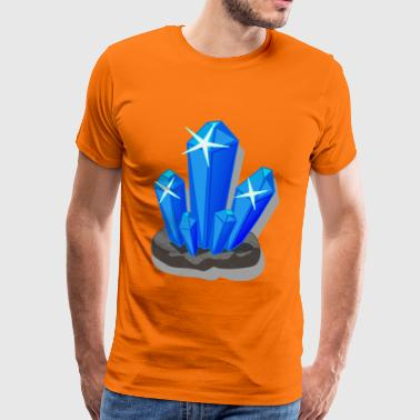 crystals - Men's Premium T-Shirt