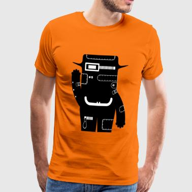Philipp - Tech Monster Collection - Mannen Premium T-shirt