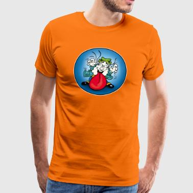 Boleo's Jumper - Tongue Bääh! - Men's Premium T-Shirt