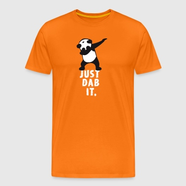 dab just panda dabbing dub dance cool LOL funny - Men's Premium T-Shirt