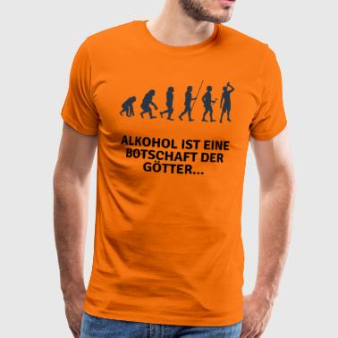 Witziges Party Design Alkohol - Männer Premium T-Shirt