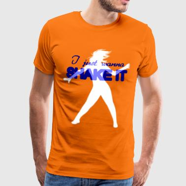 Shake it - Mannen Premium T-shirt