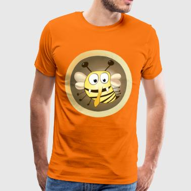 Fleet bee yellow - Men's Premium T-Shirt