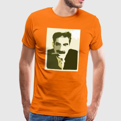 Groucho Marx Yellow - Men's Premium T-Shirt