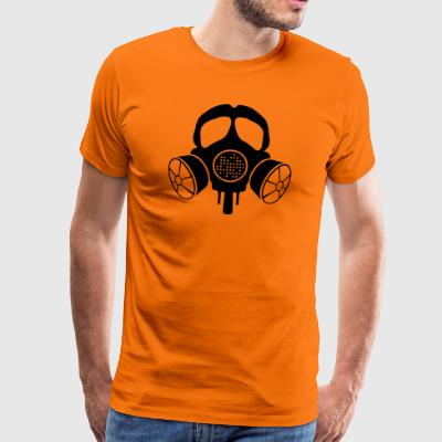 INANI double gas mask - Men's Premium T-Shirt