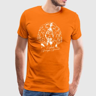 English springer spaniel - Herre premium T-shirt