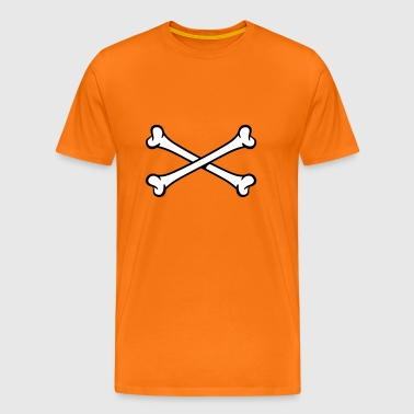 Crossed Bones | Knochen | Kreuz - Men's Premium T-Shirt