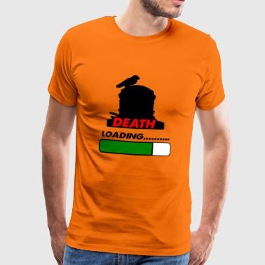 death loading - Men's Premium T-Shirt