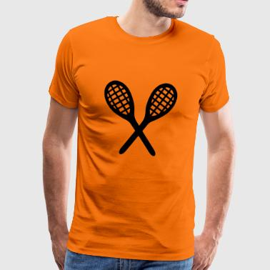 2541614 15519189 tennis - Premium T-skjorte for menn
