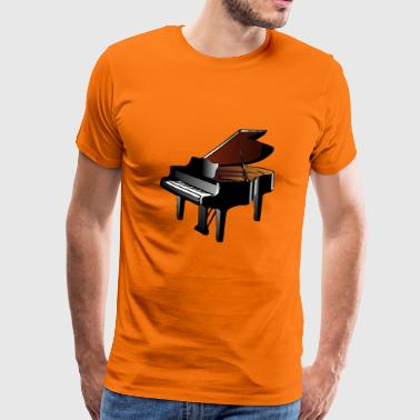 Piano à queue - T-shirt Premium Homme